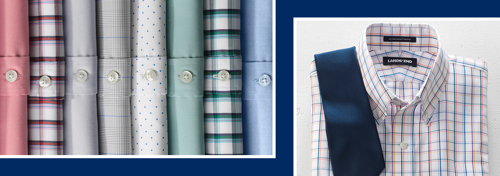 Big and Tall Button-Downs for Day and Night