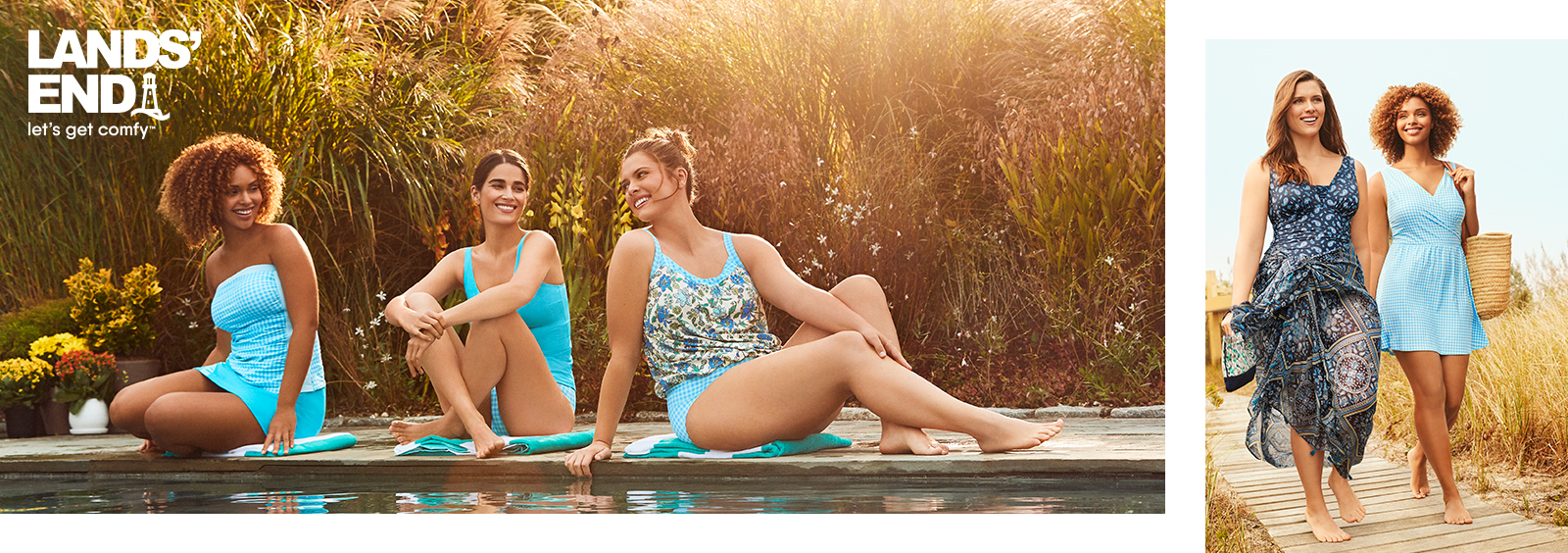Stylish Swimwear for Your Backyard Pool Party