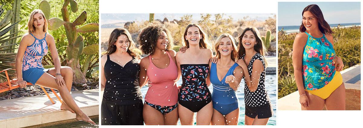 Swimsuit Tankini Tops She'll Love