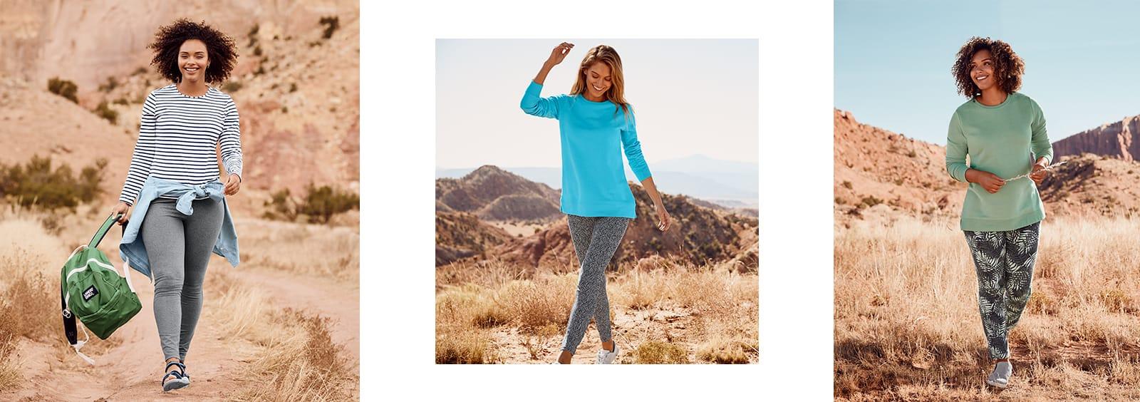 Best Plus Size Workout Clothes | Lands' End