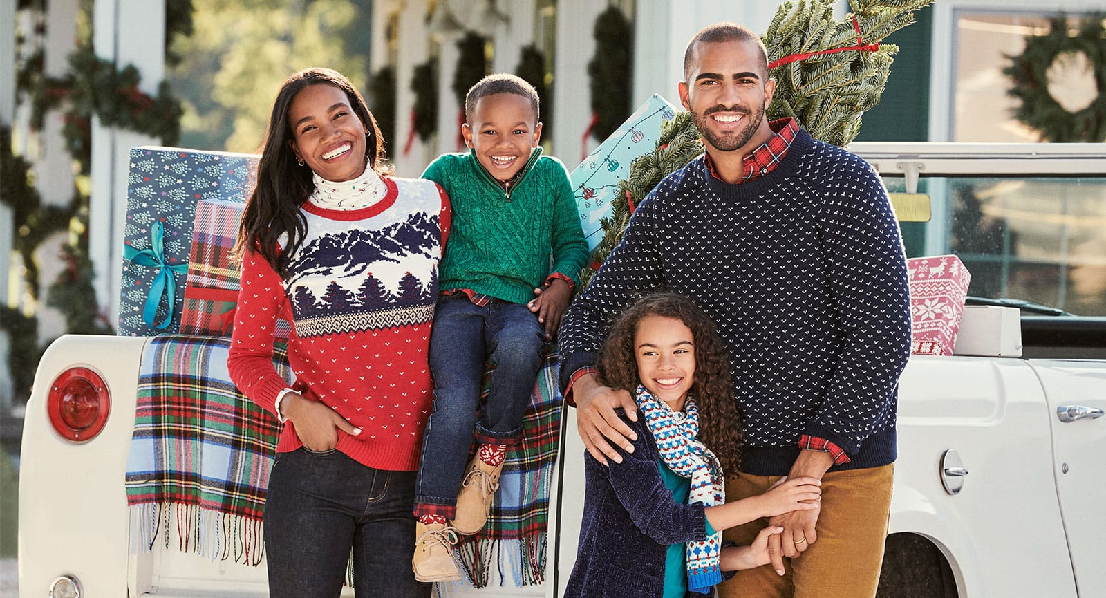 Christmas Sweaters for the Whole Family | Lands' End