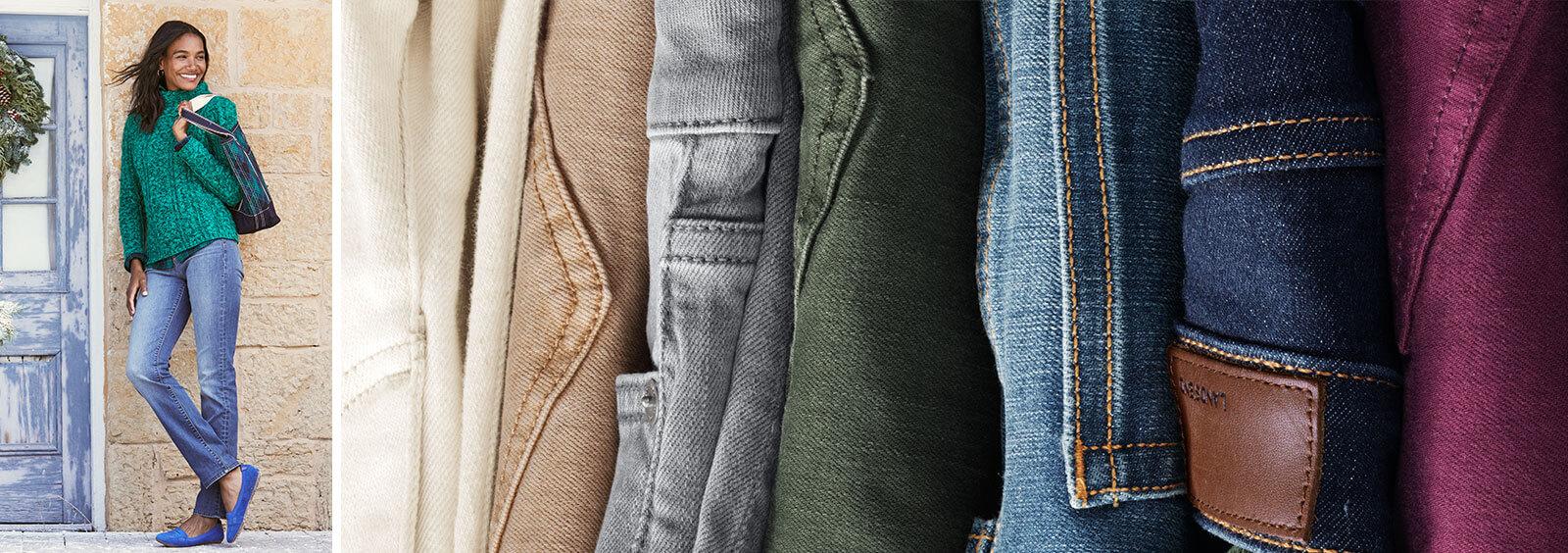 How to Make Jeans More Formal   Lands' End