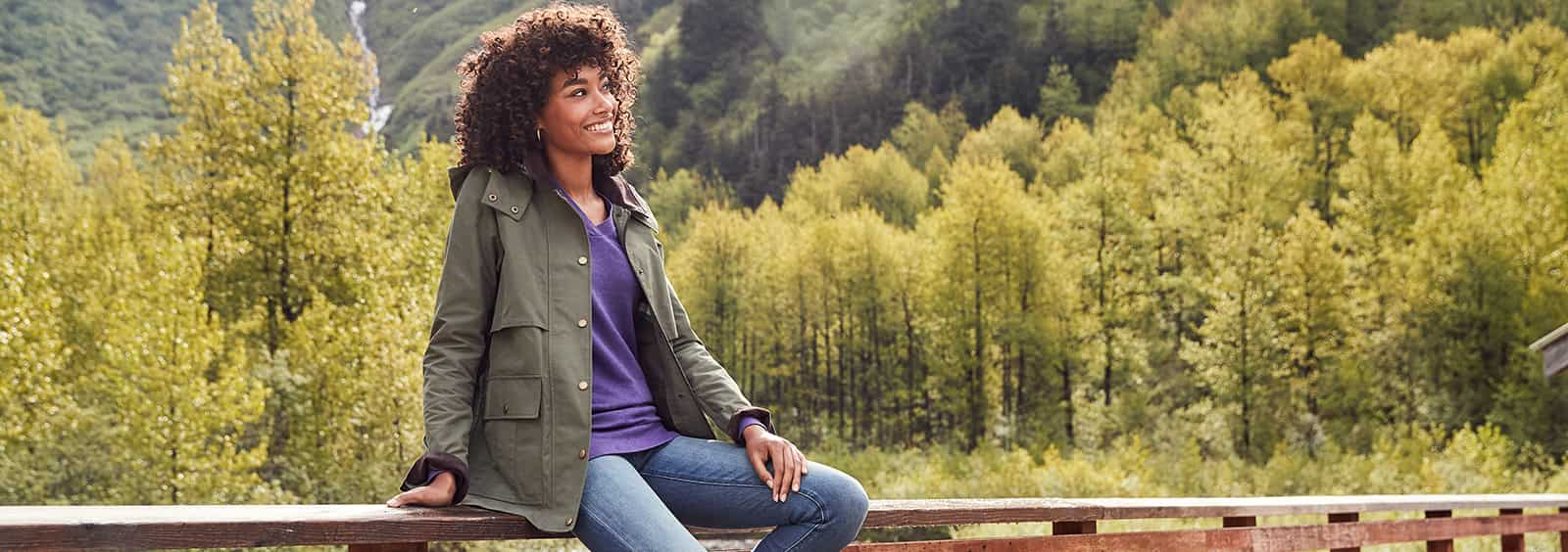 Women's Casual Jackets to Wear With Pull-On Jeans