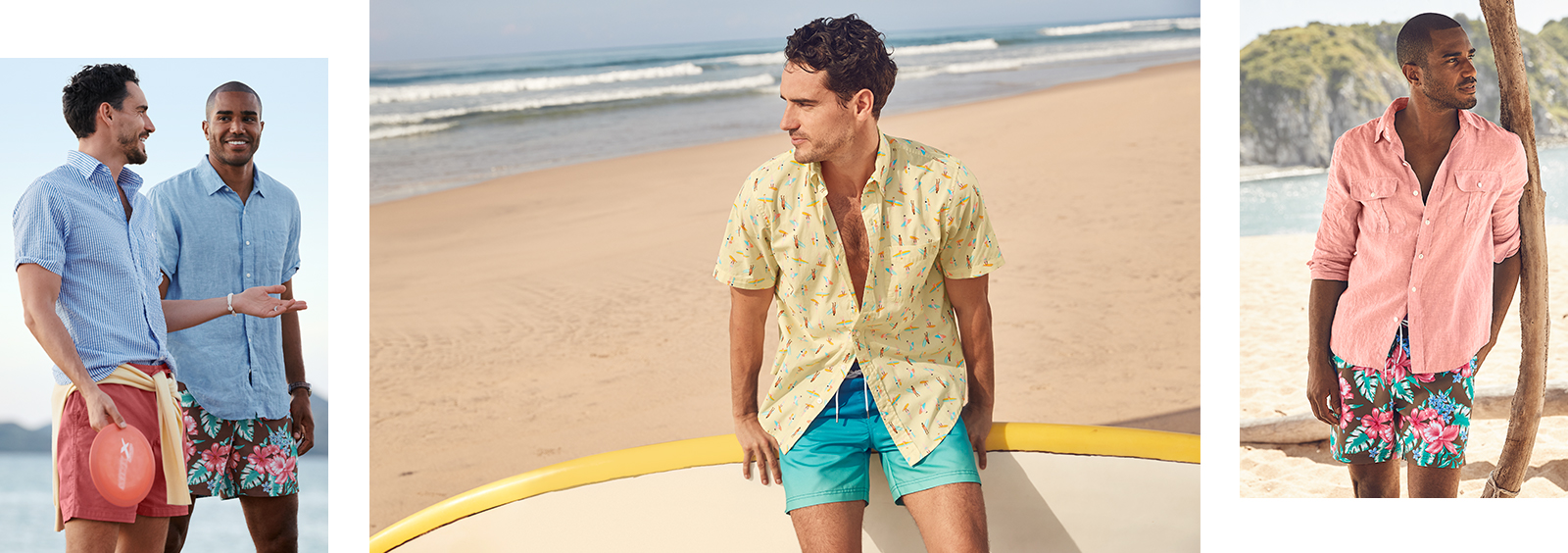 Go Bold this Summer With These Stylish Men's Swim Trunks