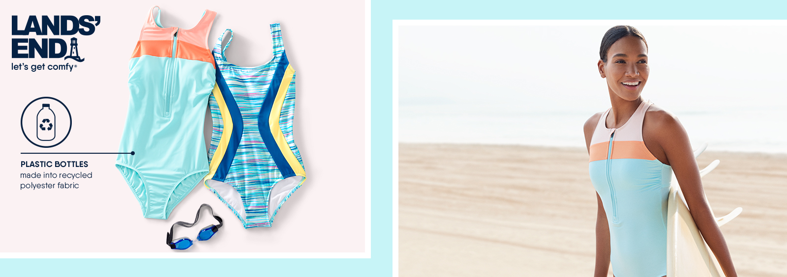Swimsuits That Love the Water – and the Earth