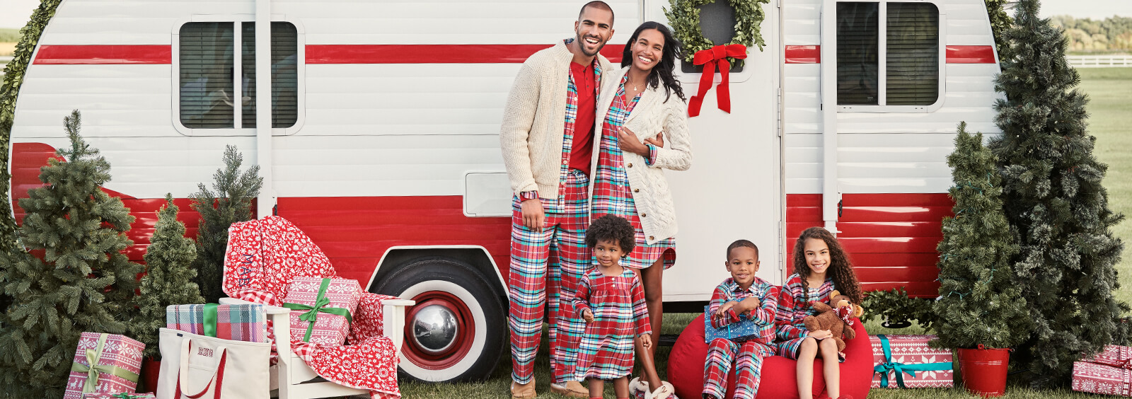 Matching Pajamas For the Whole Family to Wear All Year