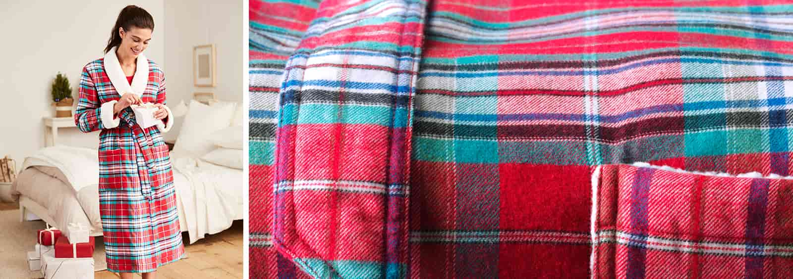 Why A Flannel Robe is the Ultimate Cold Weather Gift | Lands' End