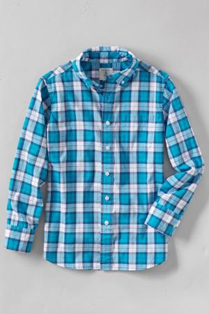 Toddler Boys' Poplin Long Sleeve Shirt